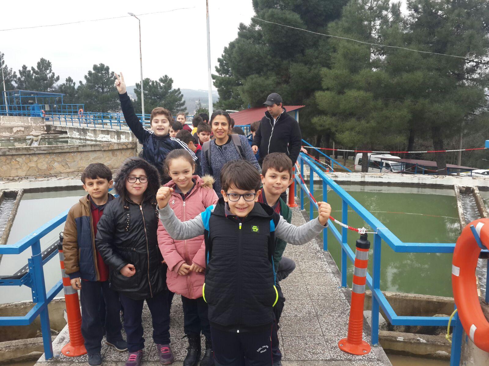 Okulumuz Öğrencileri Yeşil Körfez Su Birliğini ziyaret etti.