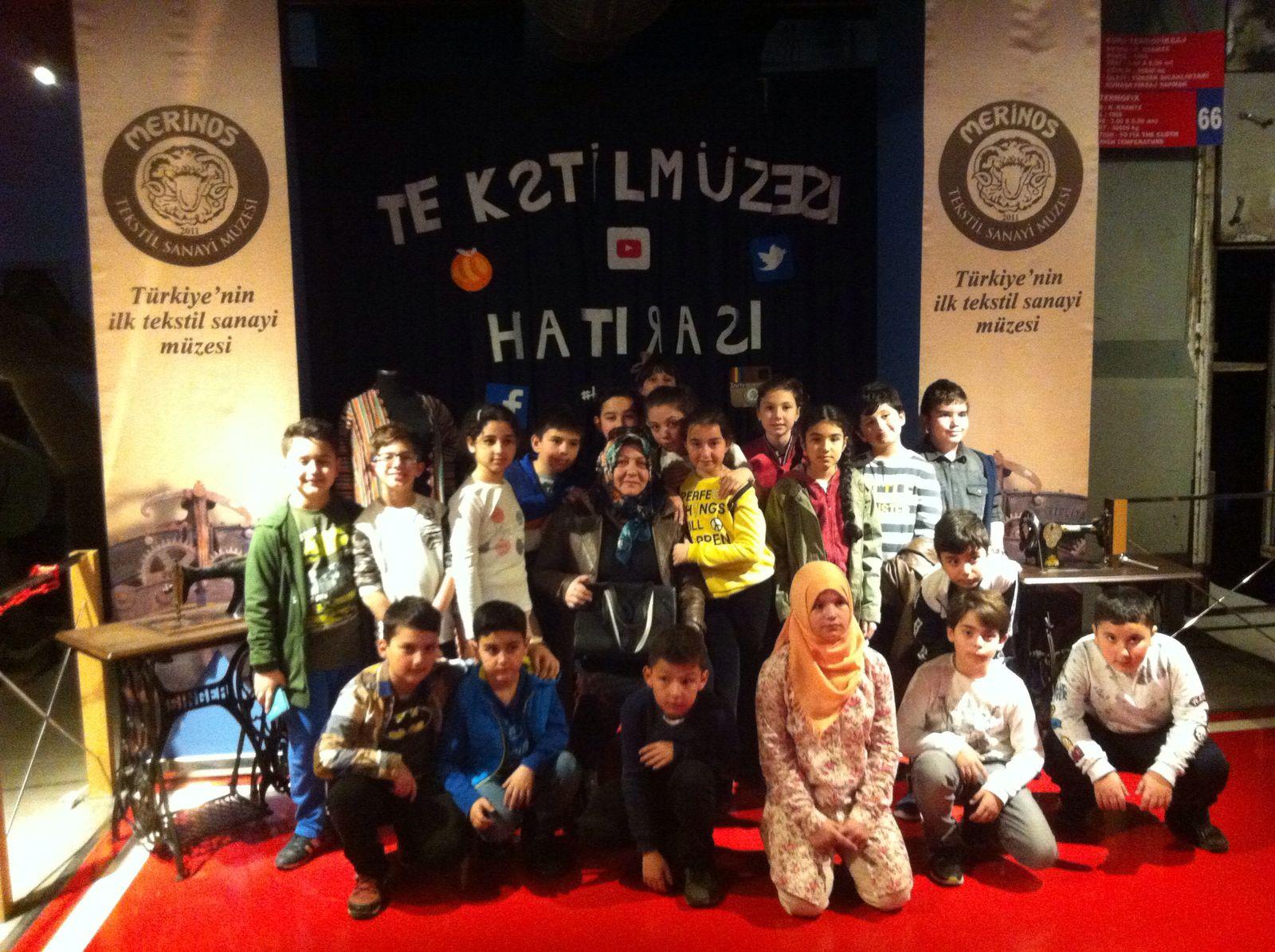 4/A Sınıfı Öğrencilerimizle Bursa Merinos Tekstil ve Sanayi Müzesi gezisi yapıldı.