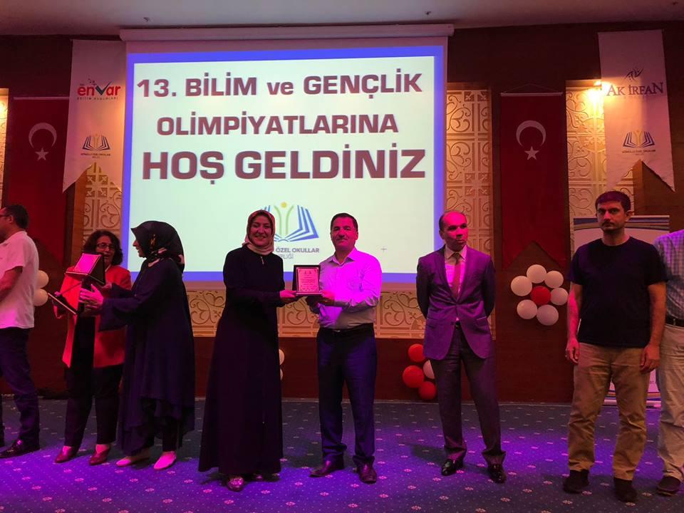 Bilim ve Gençlik Olimpiyatları ve Liseler arası Çalıştay Antalya'da yapıldı.