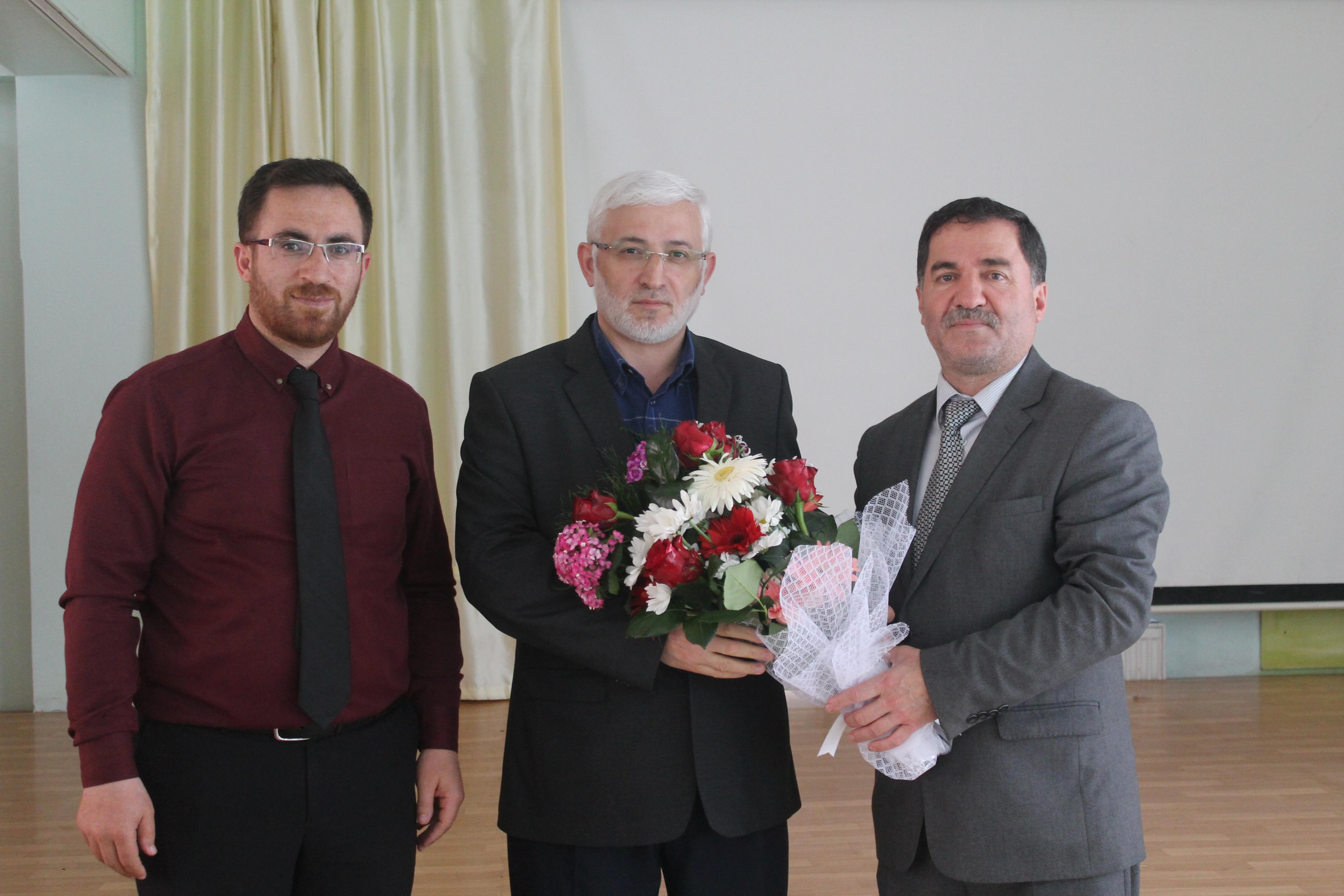 """Ramazân-ı şerîf münasebetiyle okulumuzda """"Ramazan ve Oruç"""" konulu seminer düzenlendi."""