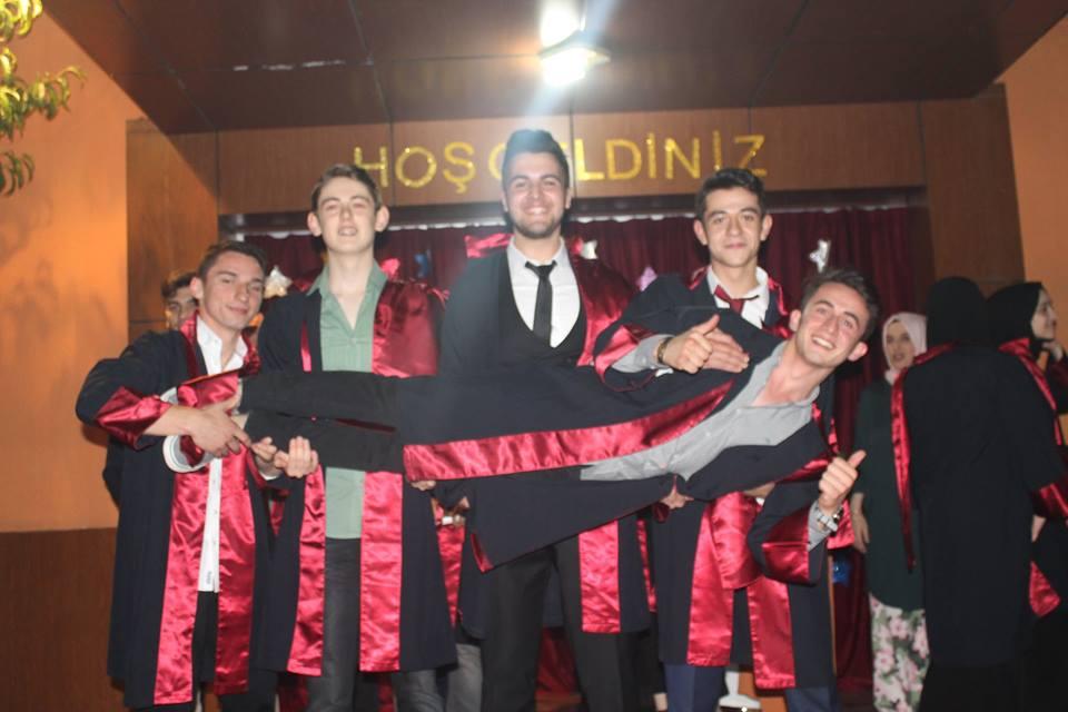 2017-2018 Mezuniyet Törenimiz