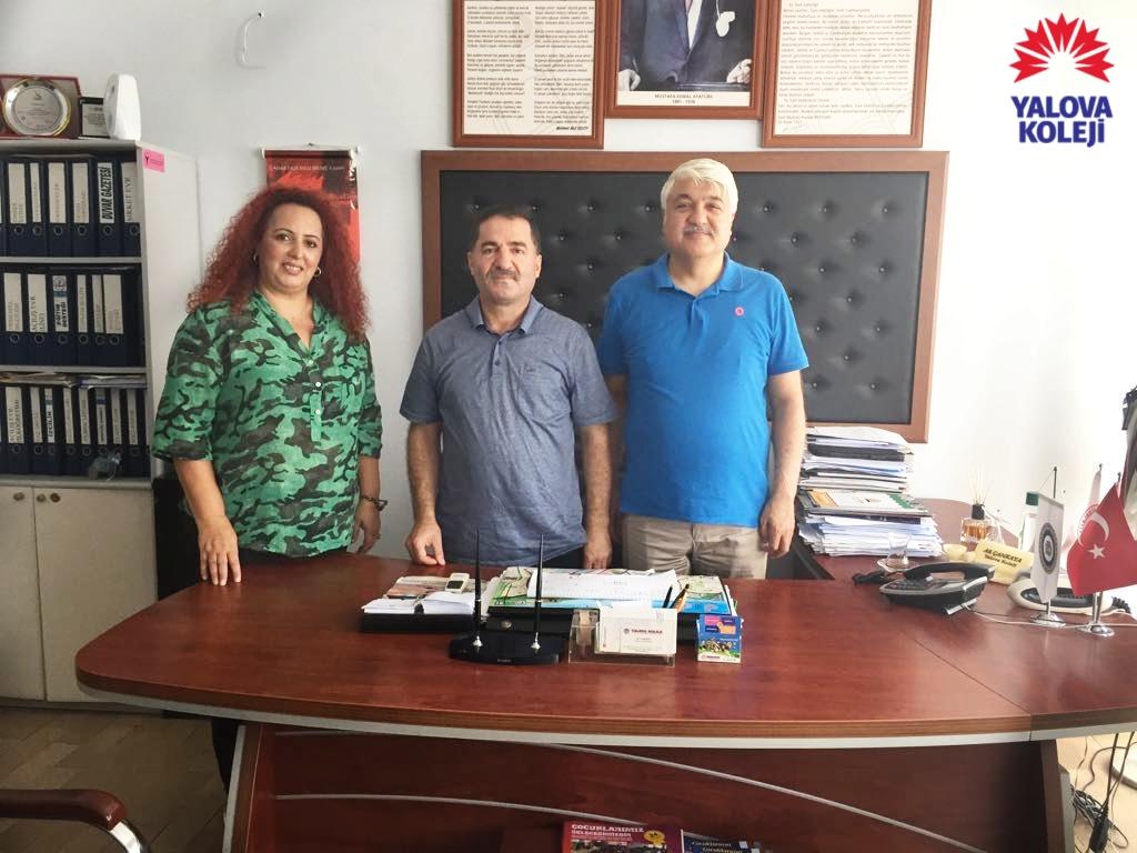 Yalova Cumhuriyet Başsavcımız Sayın Yıldırım Özgür'den Veda Ziyareti…