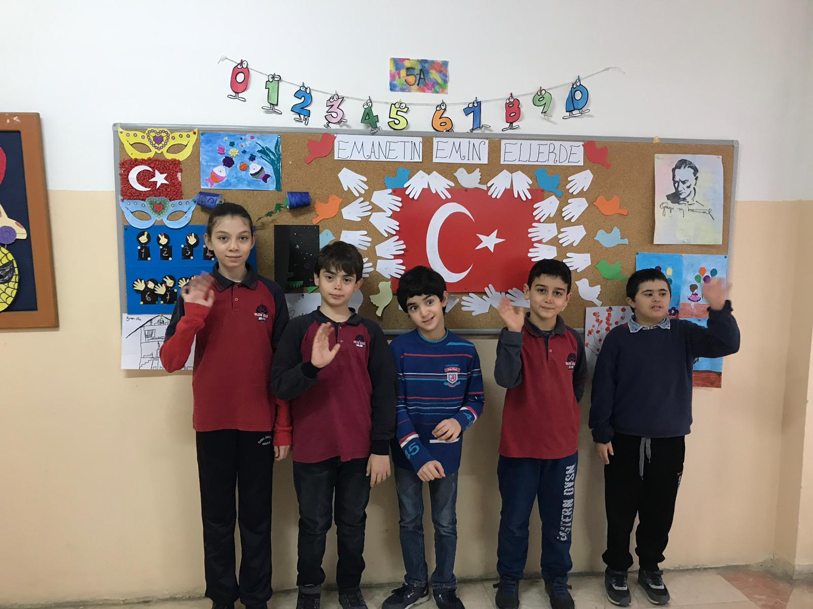 Alime Paşa Özel Eğitim Ortaokuluna Ziyaret