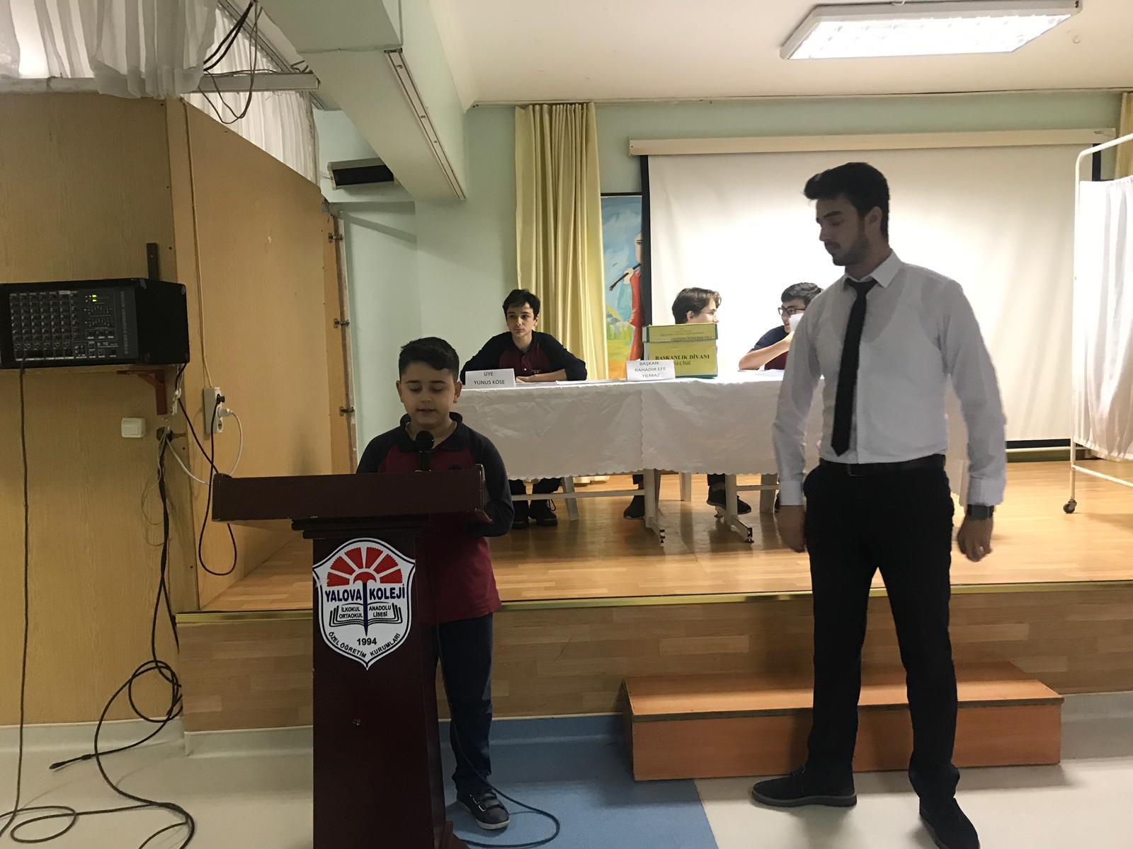 Okul Meclisi Başkanlığı Seçimi