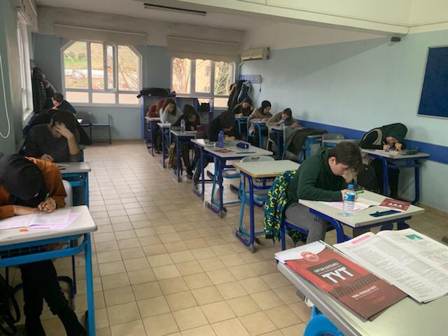 Okulumuzda Türkiye Geneli TYT Sınavı Yapıldı.
